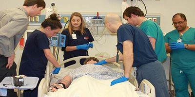 Sepsis simulation at the University of Virginia